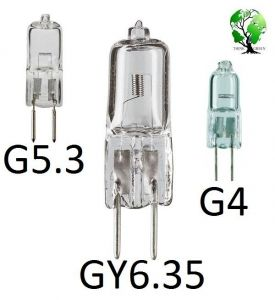 Capsule Socket G4 / G5.3 G 6.35 LED, Halogen