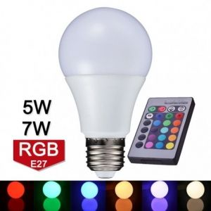 LED Bulbs with Sensor and / or Remote Control