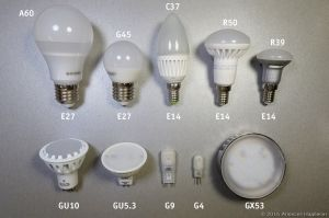 LED, Halogen, Energy Saving Bulbs, Capsules