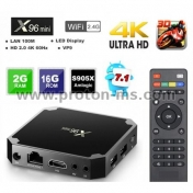 Смарт TV Box X96 Mini, 2GB RAM, 16GB Flash, 4K, Wifi Android Player