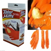 Tater Mitts Quick Peeling Potato Gloves