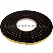 Insulating Tape for Doors and Windows, Black