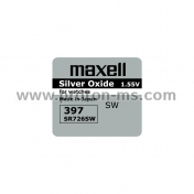 Button Battery Silver MAXELL SR-726 SW /AG2/397/ 1.55V