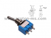 Toggle Switch ON-OFF-ON, 3 A / 250 VAC