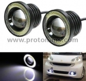 LED Super Lamp Fog Angel Eyes 89mm