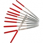 10 pcs. Mini Needle File Set 160x4mm