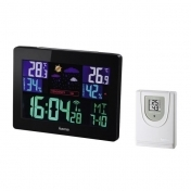 "Hama ""Color EWS-1400"" Weather Station, black"