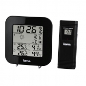 "Hama ""EWS-200"" Weather Station, black"