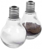Lightbulb Salt and Pepper Shakers