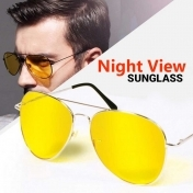 Night View Glasses Clear Bright 100% UVA Protect Car Driver Glare Reduction
