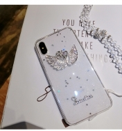 Силиконов Кейс за iPhone 11 Pro Bling Crystal Diamond Case