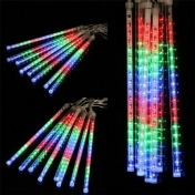 LED Strip Light Christmas Rain Tube Meteor Shower Rain LED Light Tubes 100-240V EU/US/UK/AU Plug