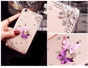 iPhone 7 / 7S Luxury Phone Case Ultra Thin Slim Cover, Flowers