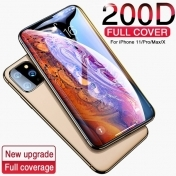 Стъкло 200D Full Cover Tempered Glass For Iphone 11 Pro