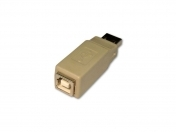 USB A Male to Male Connector Adapter