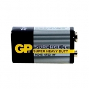 Zinc carbonic battery GP 6F22 Supercell 1 pcs. 9V