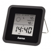 Thermometer/Hygrometer HAMA TH50 113987, Black