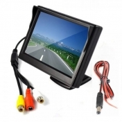 7 inch TFT LCD Color Monitor Pillow TFT LCD Full Color Display Monitor with Remote Control Available for VCD / DVD / GPS / CAMERA