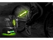 HJ008-2 Ultra Bright 2 LED Lights Set For Cycling Bicycle