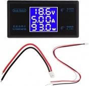 Дигитален Панел DC 12V 5A LCD Display Digital Voltmeter Ammeter Wattmeter Voltage Current Power Meter Volt Detector Tester Monitor 0-50V 250W