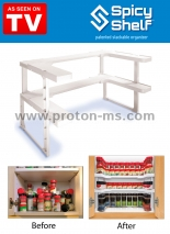 Organizer, Spicy Shelf Cabinet Organizer