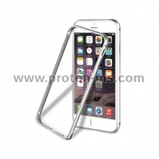 Muvit Aluminum Bumper for iPhone 6, Silver MUBKC0834