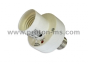 Rising Sun Light Bulb Socket managed remotely up to 25 meters