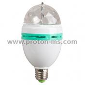 LED парти диск 220V 2,2W