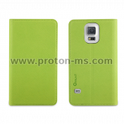 Muvit Samsung Galaxy S5 Green Leather Phone Case