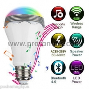LED Light and Bluetooth Speaker Playbulb