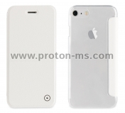 iPhone 7 Muvit Folio Stand Case MUFLC0016, White