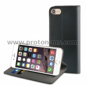 Muvit Black Folio Stand For Apple iPhone 7