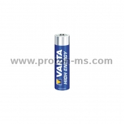 VARTA HIGH ENERGY Alkaline Battery, AAA / LR03 / 1.5V