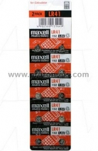 MAXELL LR41 192 Battery, 1pc.