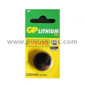 Button Battery Lithium GP CR2450 3V 1pc.