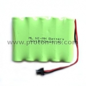Rechargeable NiMH Battery 6V 1800mAh