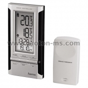 Electronic Weather Station HAMA EWS-180 104930, Black/Silver