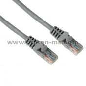 Network Cable HAMA, 46746, CAT 5e, UTP, RJ-45 - RJ-45, 15 m, 1 Star, Grey