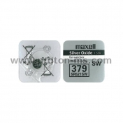 Button battery MAXELL SR-521 Silver SW / AG0 / 379 / 1.55V