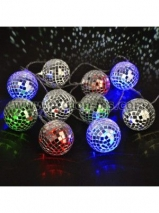 Disco Ball Lights, 10 Battery operated chain lights