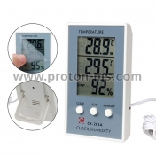LCD Digital Thermometer Hygrometer Temperature Humidity Measurer Tester
