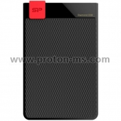 "Външен хард диск SILICON POWER Diamond D30 Black 1TB 2.5"" HDD USB 3.1"