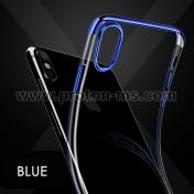iPhone X Ultra Thin Soft Silicone, Blue