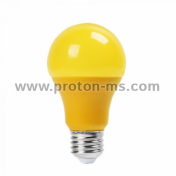 LED Bulb 9W E27 A60 Thermo Plastic Yellow 7342