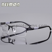 Очила за компютър Spectacle Frame Silhouette Eyeglasses Men Computer Optical Eye Glasses Frame For Male Transparent Lens Armacao  de RS077