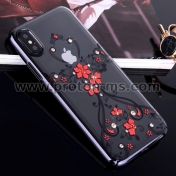 Луксозен  Кейс Luxury Phone Case For iPhone 7 /7S Ultra Thin Slim Cover Fashion  Red Phoenix
