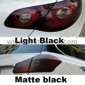 Фолио за затъмняване на фарове и стопове предпазно покритите 30cm x 100cm Auto Car Tint Headlight Taillight Fog Light Vinyl Smoke Film Sheet Sticker Cover 12inch x 40inch Car styling