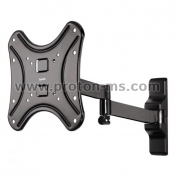 "Ultraslim FULLMOTION TV Wall Bracket HAMA 108727, 19""-46"", 25 kg, Black"