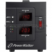 Voltage Regulator POWERWALKER AVR 1500 SIV, 1500VA