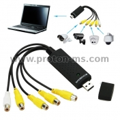 4 Channel USB DVR Video Audio Capture Adapter